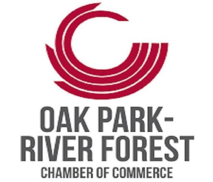 Oak Park Chamber of Commerce logo.